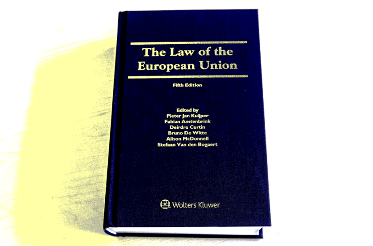 The Law of the European Union, 5th edition, book cover, published by WoltersKluwer